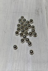 3mm Rounds Light Sterling Silver Qty 25