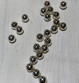 4mm Sterling Silver Rounds Qty 25