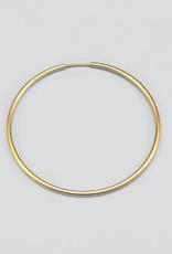40mm Endless Hoop 14k Gold Filled pair