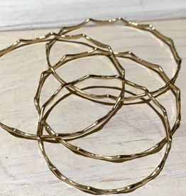 Bangle Mermaid 14ga Round Wire 14k Gold Filled ea