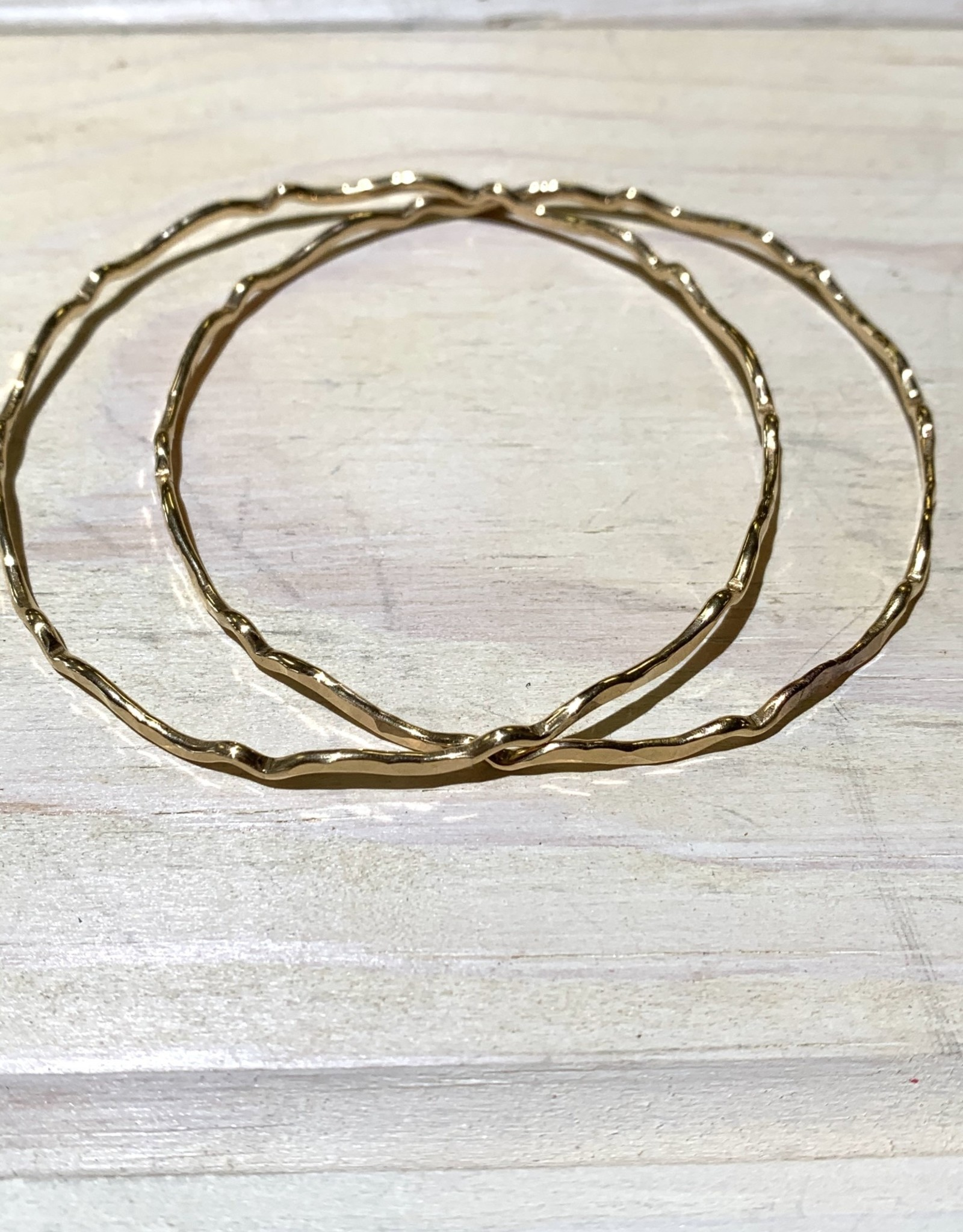 Bangle Shore Break 14ga Round Wire 14k Gold Filled ea