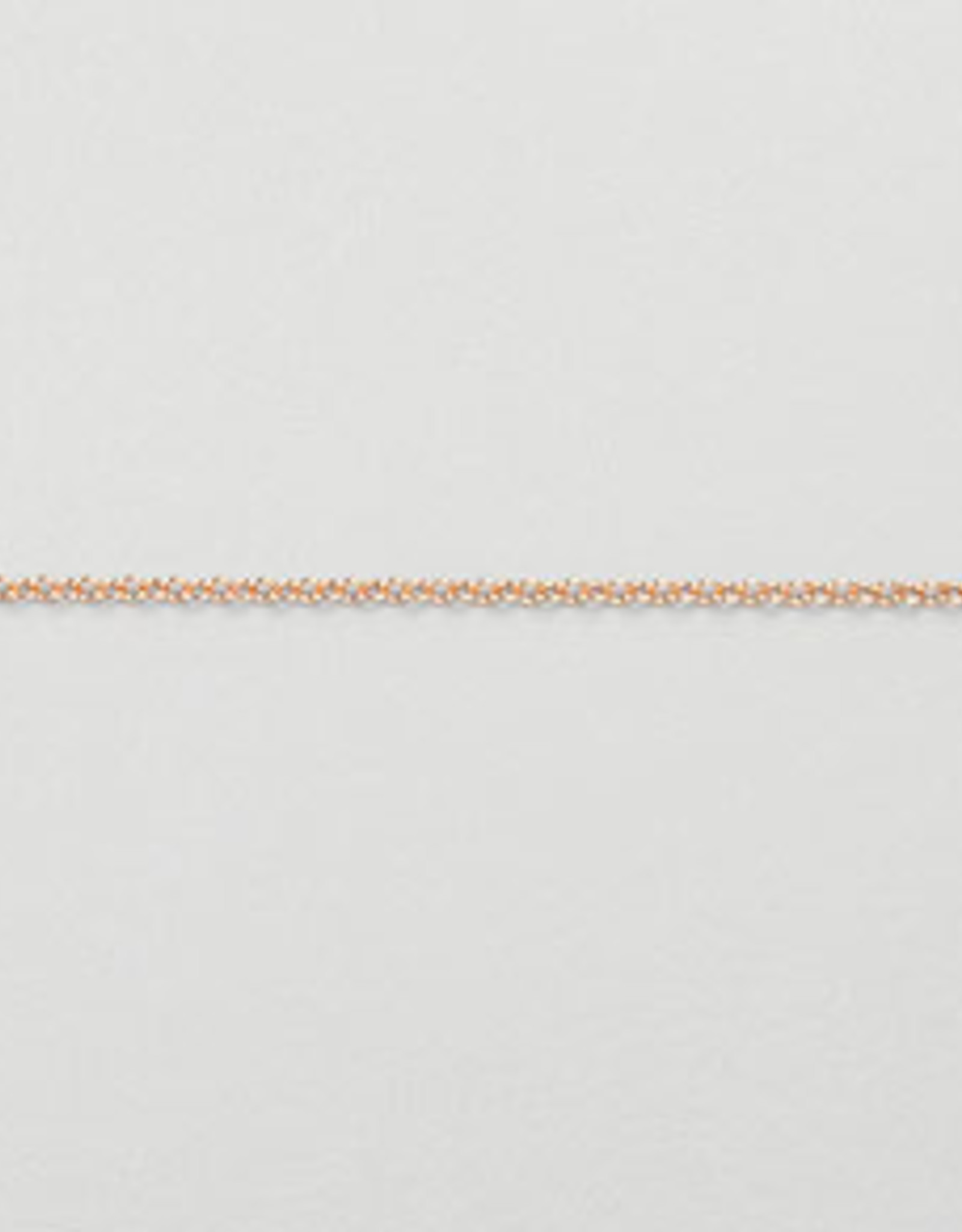 1.2mm Cable Chain 14k Rose Gold Filled Inch