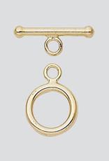 9mm Toggle 14k Gold Filled ea