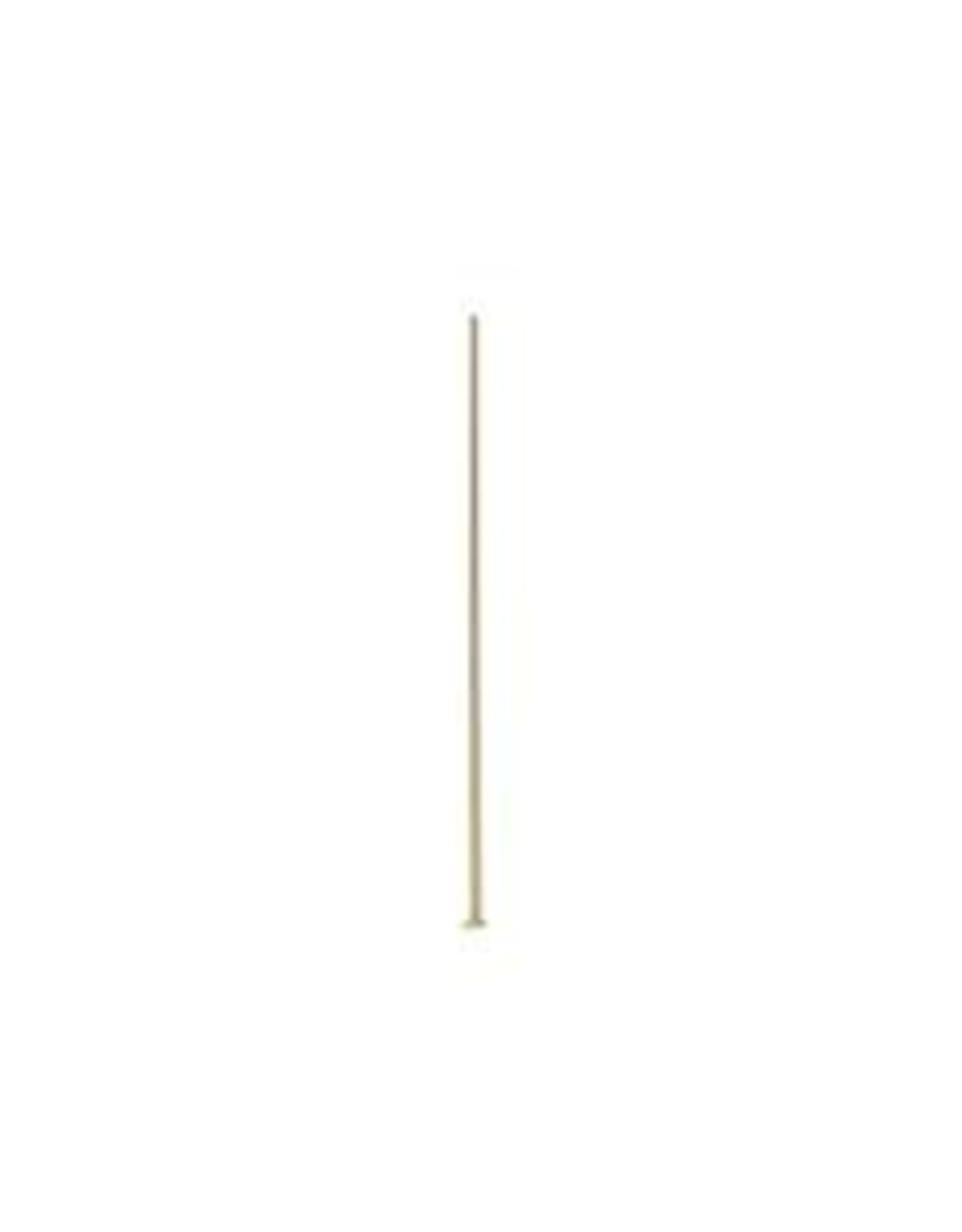 2'' Head Pin 21ga Gold Plated qty 24