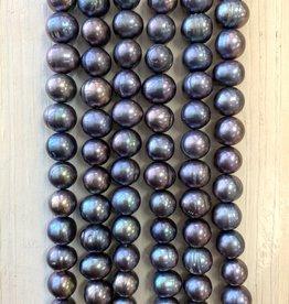 10.5mm Purple Blue Pearls