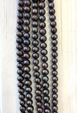 10mm Dk Brown Pearls