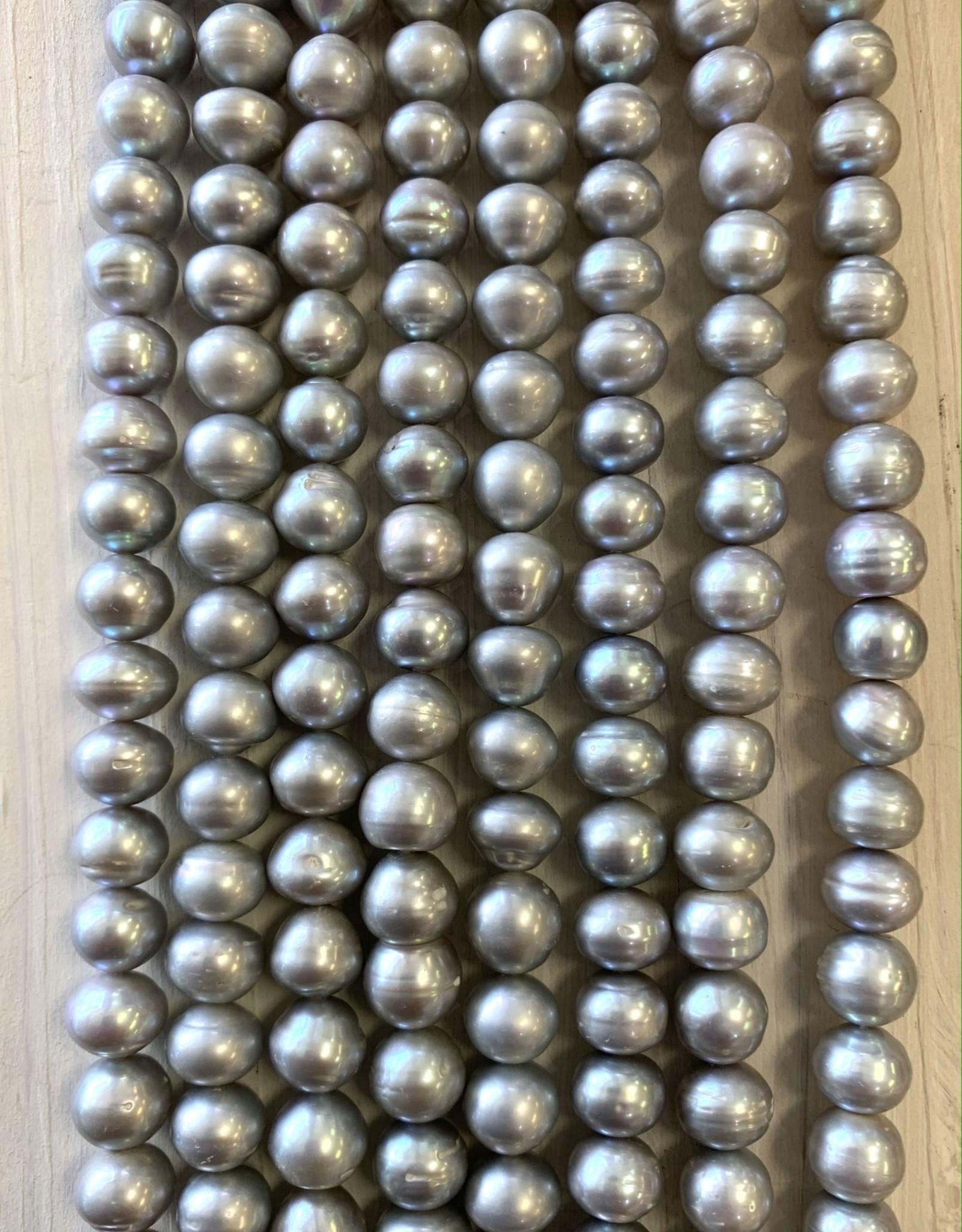 10mm Grey FW Pearls