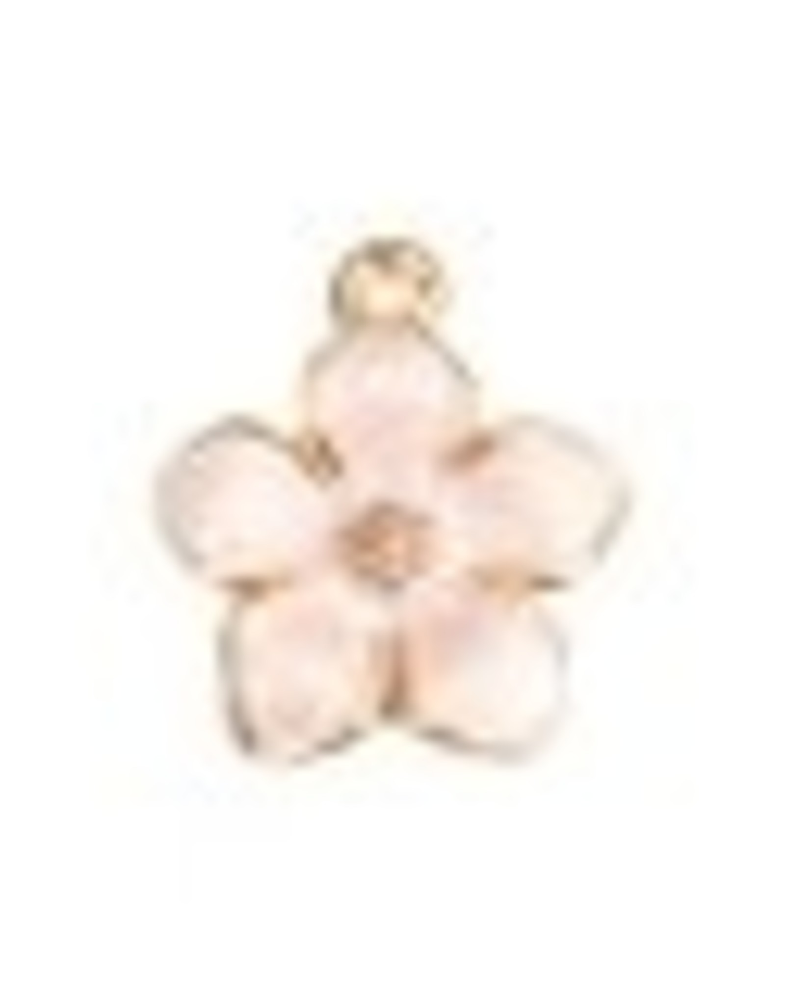 Cherry Blossom Enamel White
