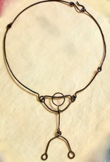 The Stick Person Necklace