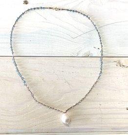 Gem Woven Necklace