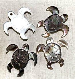 Small Turtles Dark MOP ea