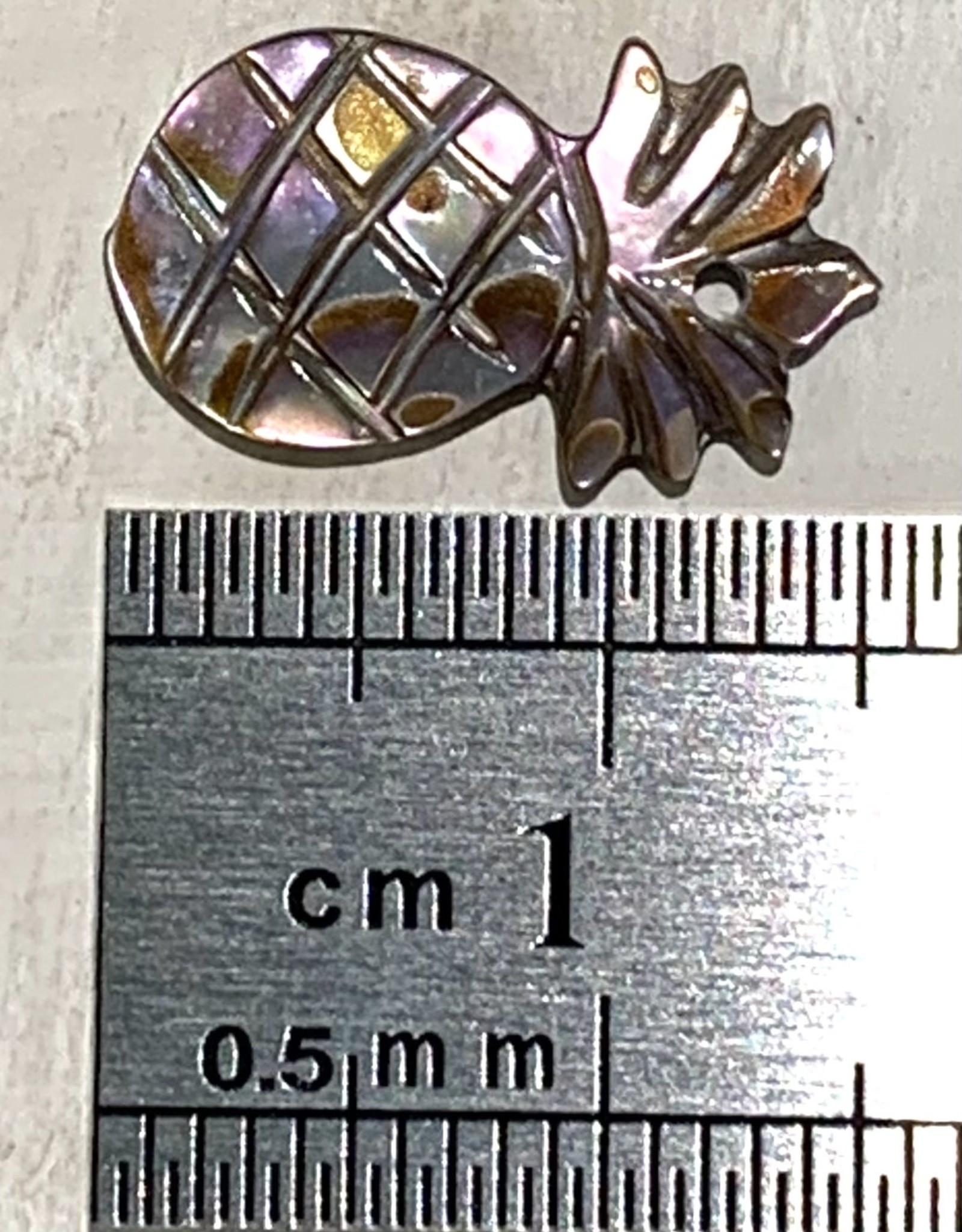 Small Pineapple Paua MOP ea