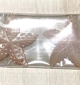 Bumpy Starfish Pink MOP Pair
