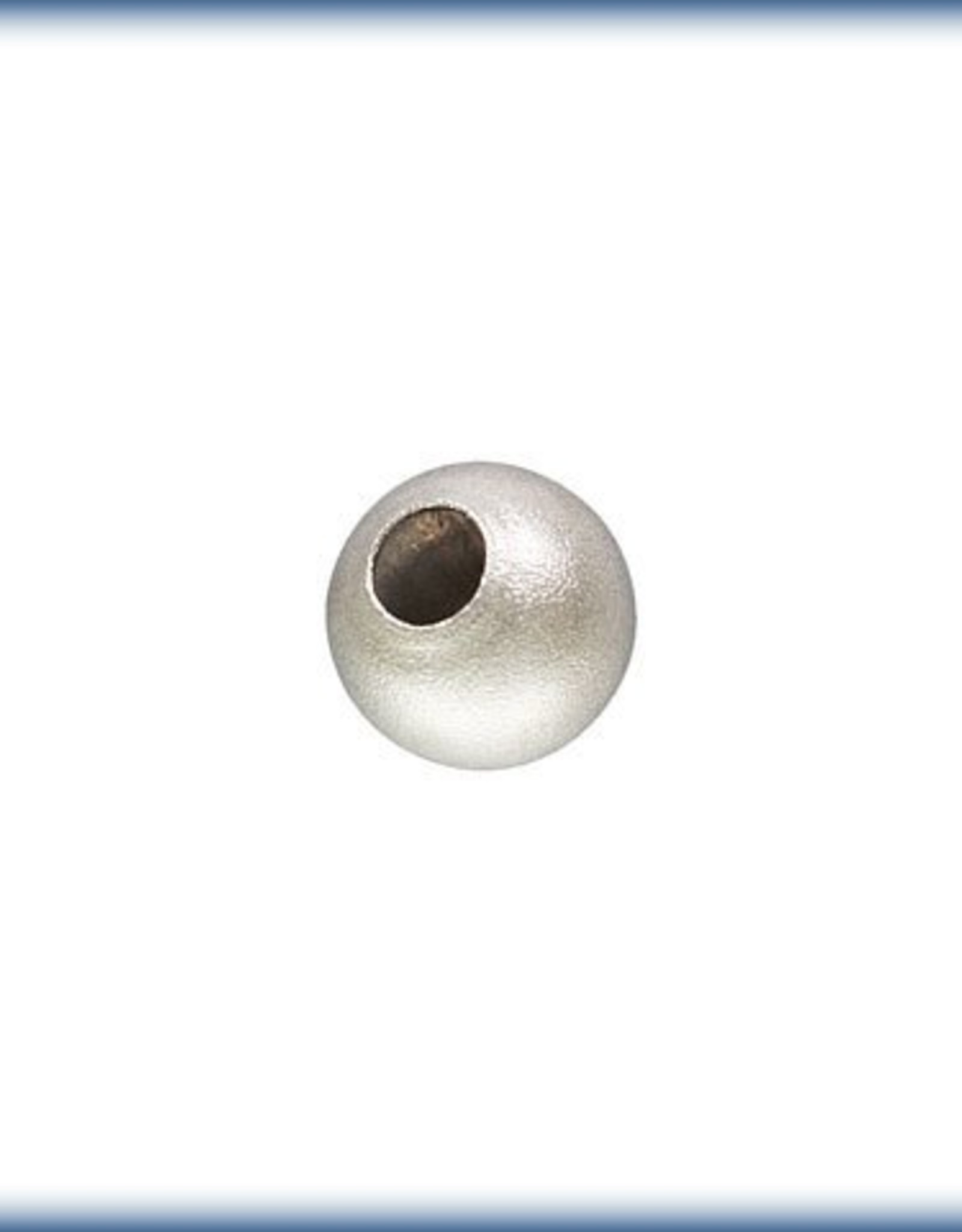 2.5mm Stardust Bead Sterling Silver Qty 24