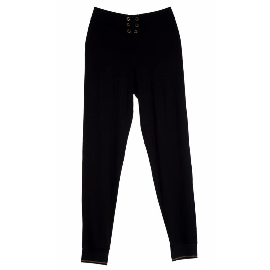urban lace up high waist track pants