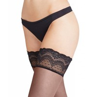 invisible deluxe 8 lace-top stay-up