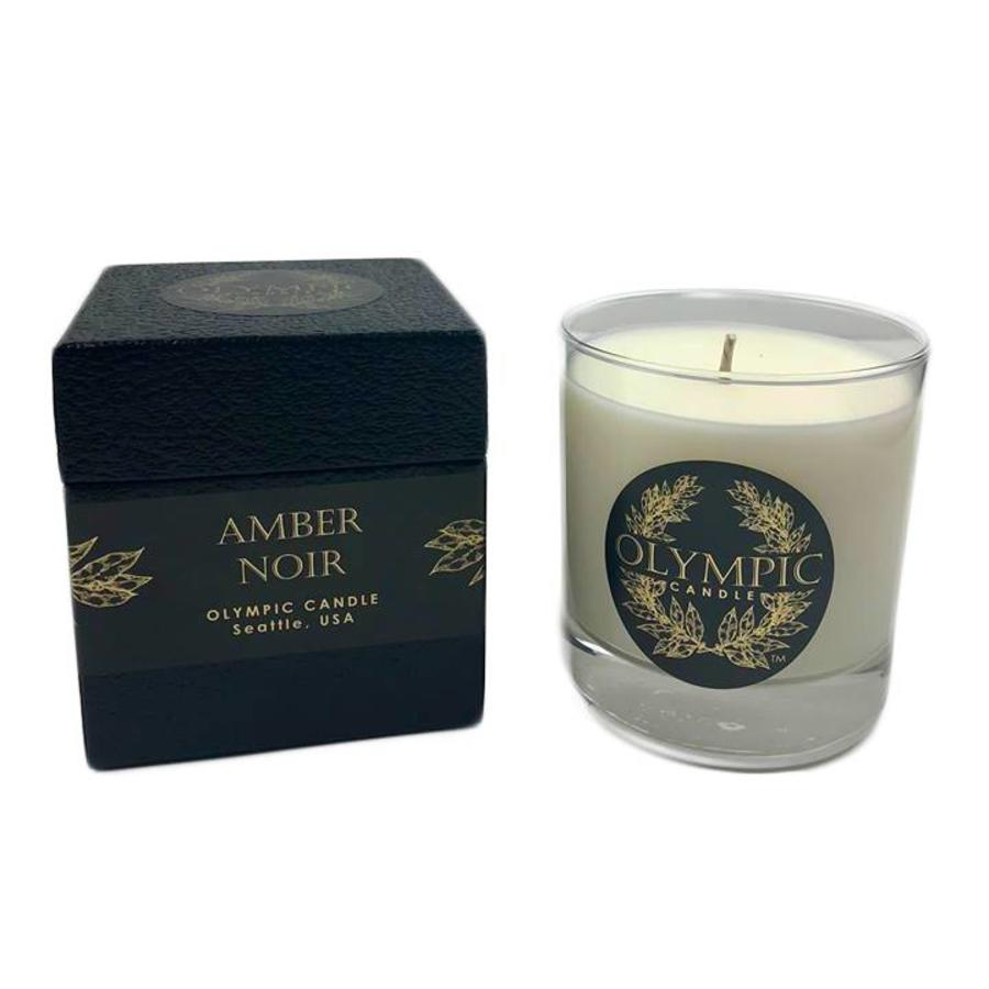 amber noir candle