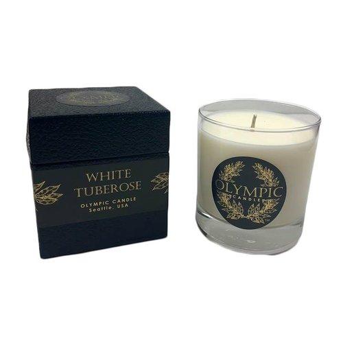 White Tuberose Candle