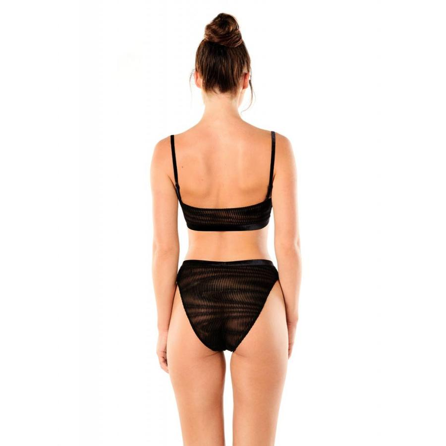 powerhouse intimates high leg cheeky bikini