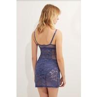 petunia soft cup triangle slip dress