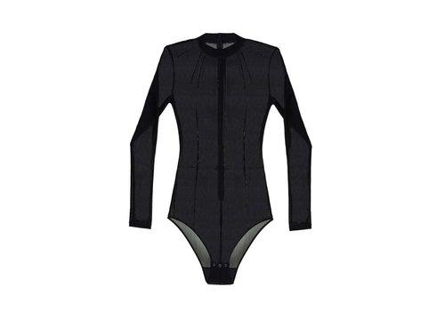 Fiercely Feminine Mesh Bodysuit