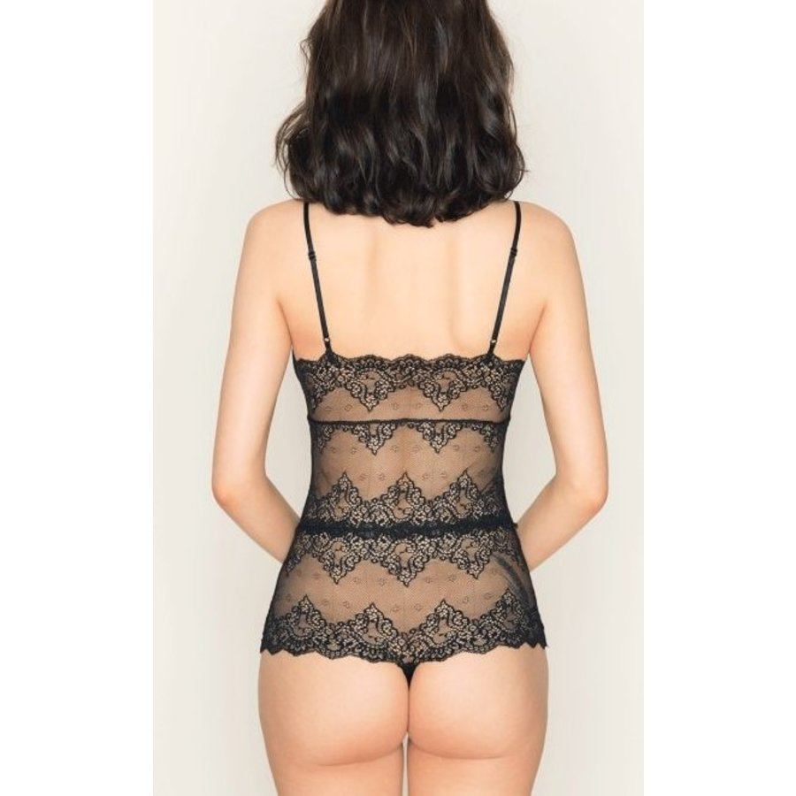 So Fine lace Cheeky Bodysuit