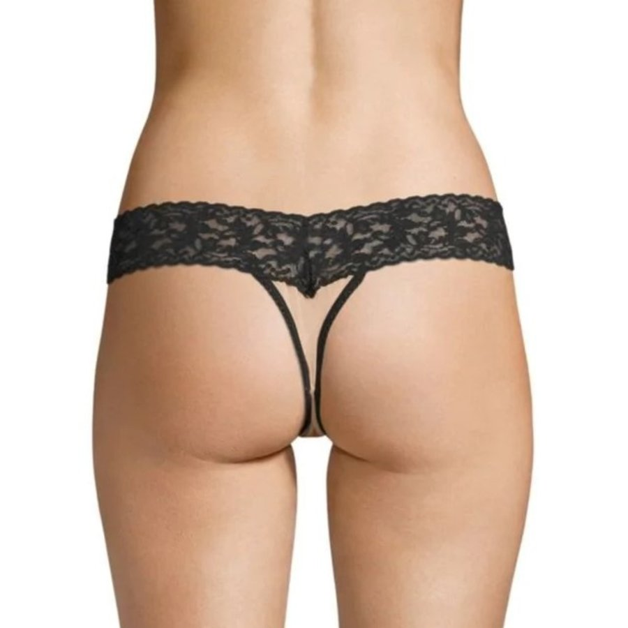 Loretta Low Rise Diamond Thong