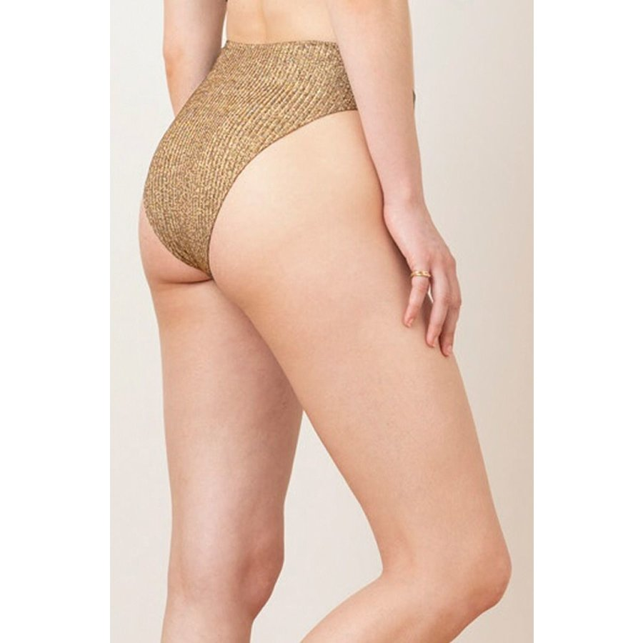 Golden High Waist Brief