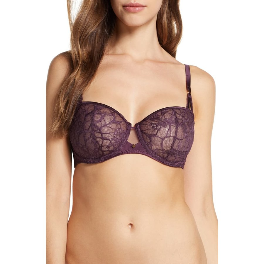 Segur Lace Unlined Demi Bra