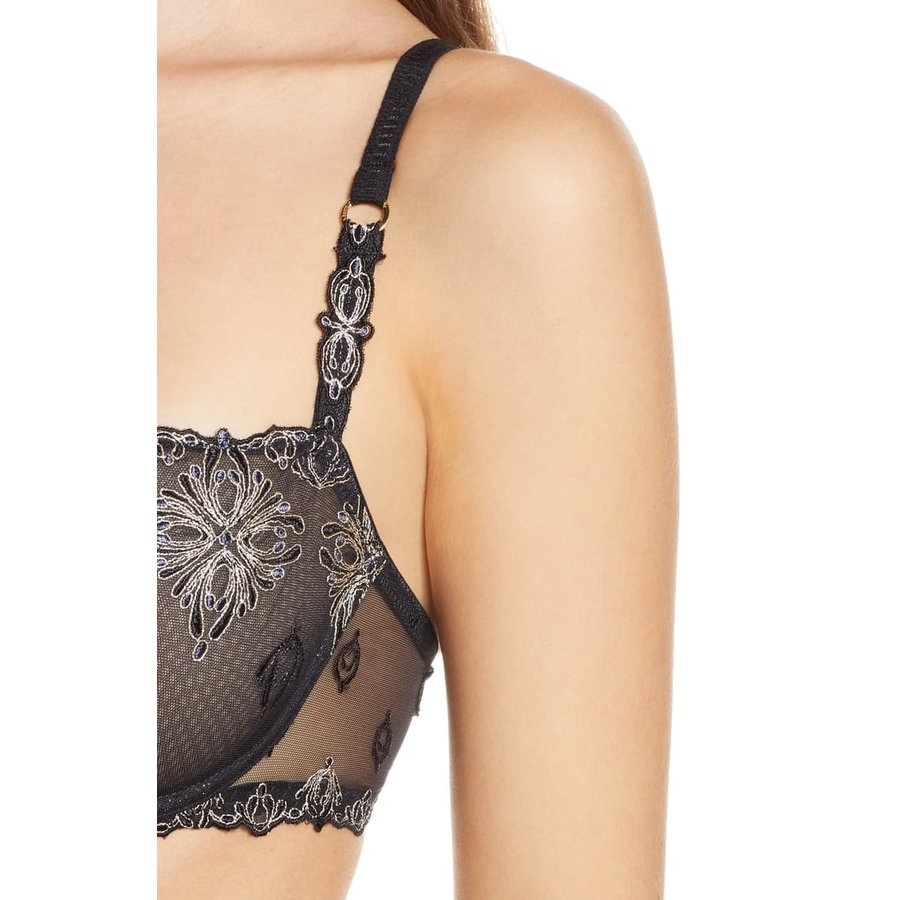 Champs Elysees Lace Unlined Demi Bra