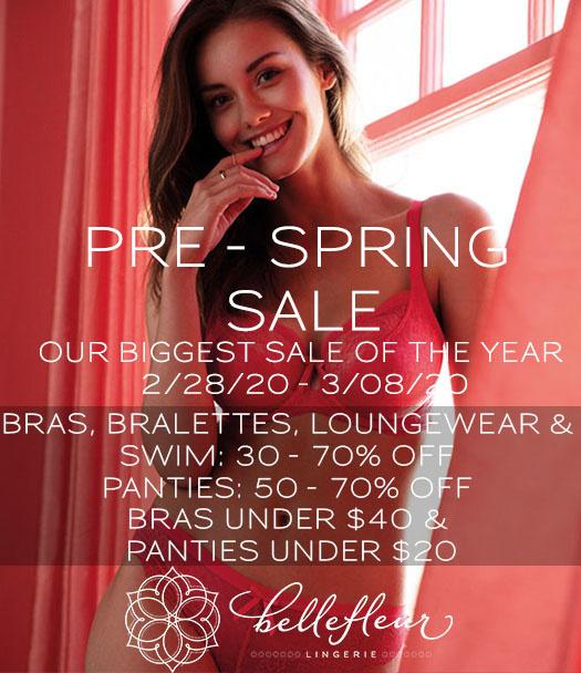 Pre- Spring Sale