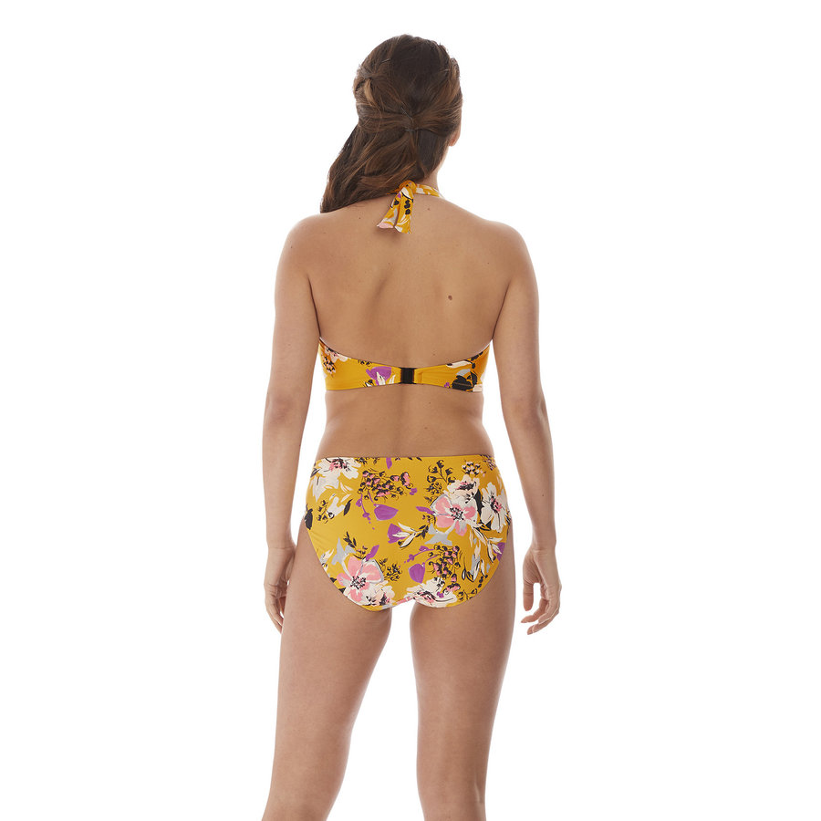 Florida Keys Underwire Halter Plunge Bikini Top