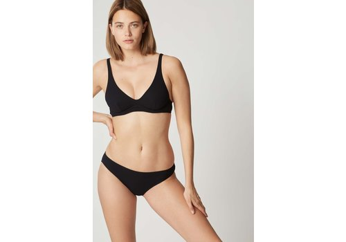 Smoking Underwire Triangle Swim Bra