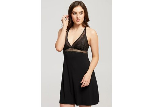 Fashion Mix Bust Support Lace Chemise