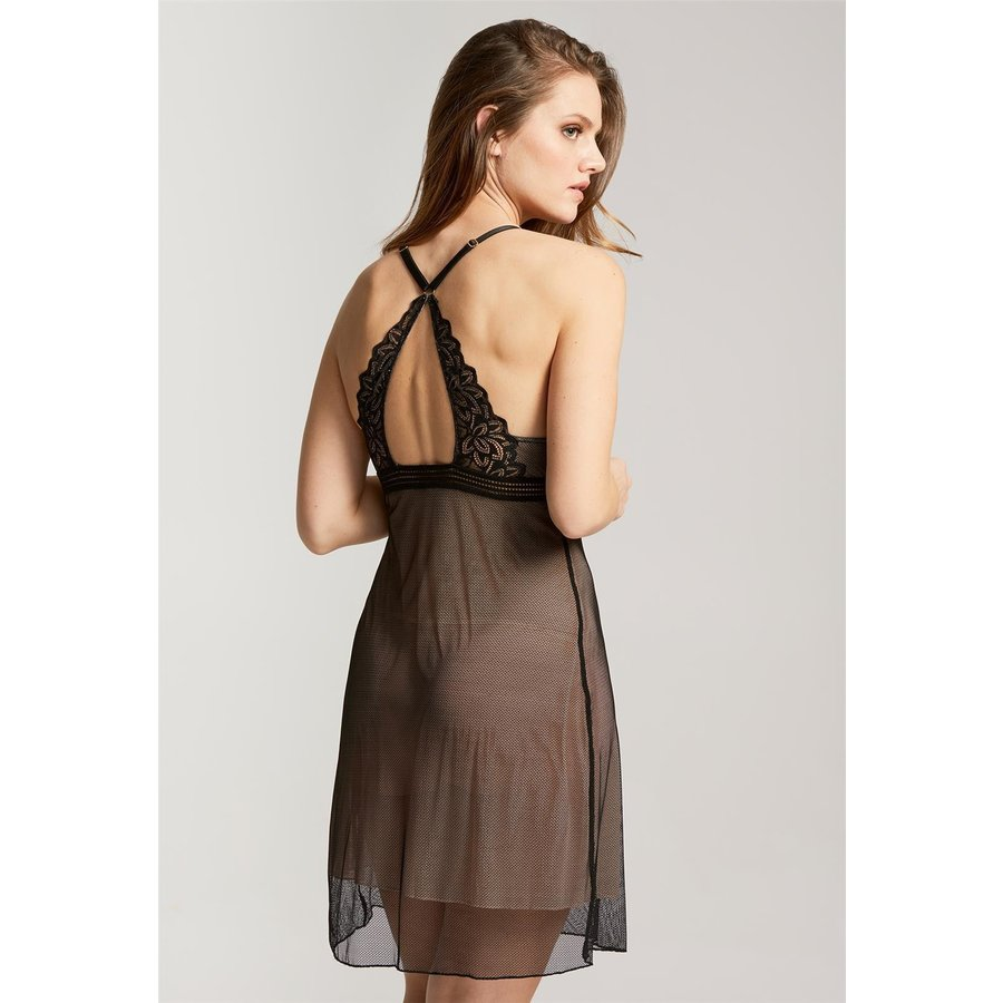 Midnight Romance Triangle Chemise