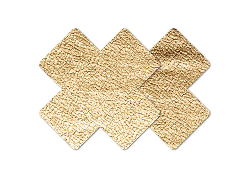 Gold Cross Leather