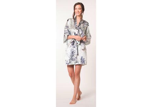 Botanica Short Silk Robe