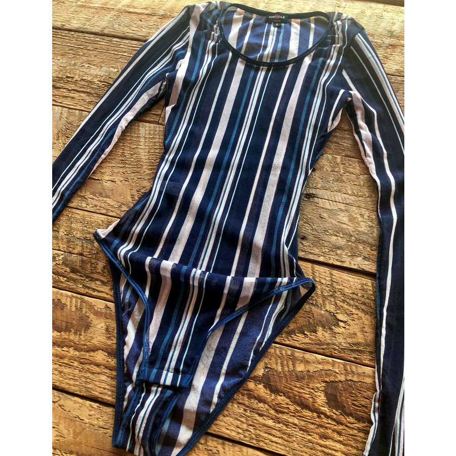 Soire Confidence Printed Classic Longsleeve Bodysuit