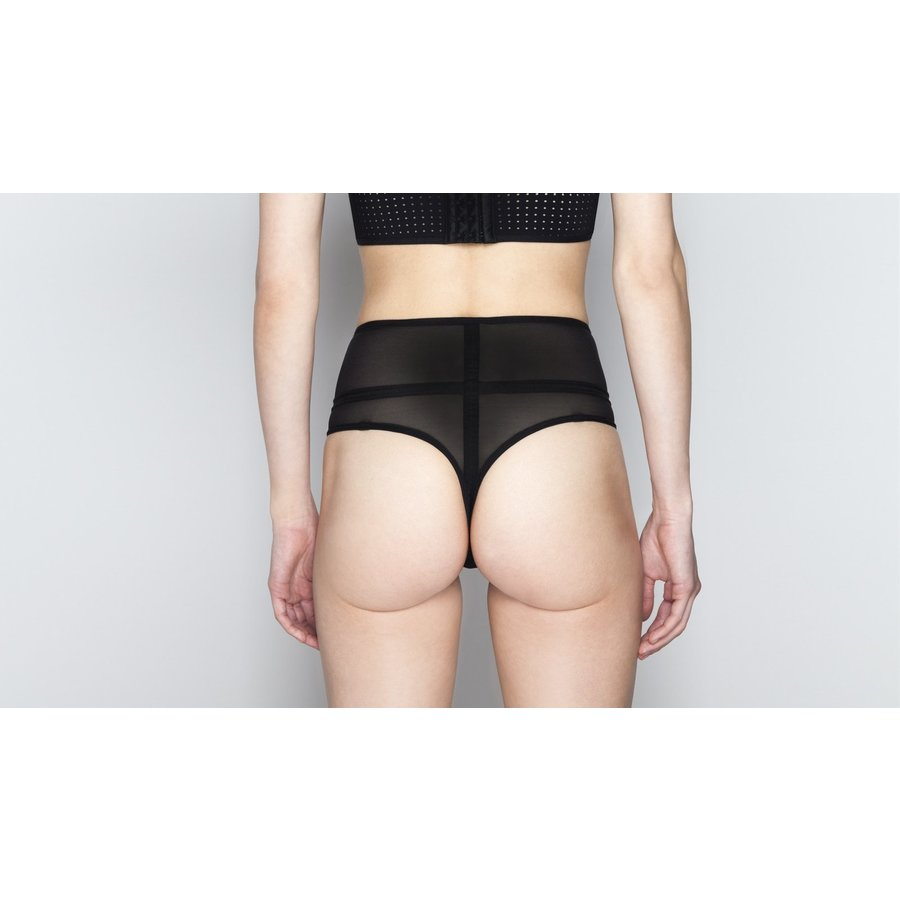 Perforation Couture Laura High Waist Thong