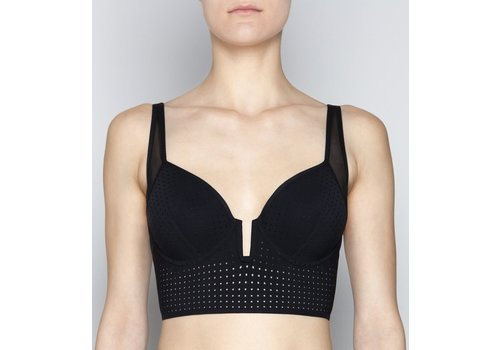 Perforation Couture Celine Bustier Spacer Bra