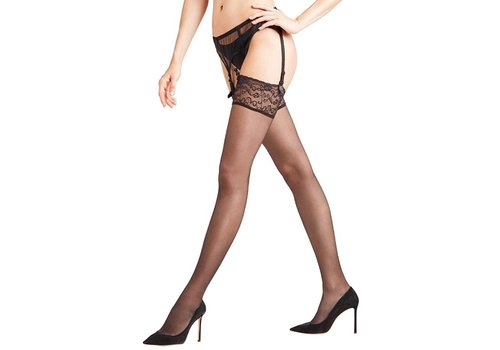 Seidenglatt 15 Lace Top Stocking