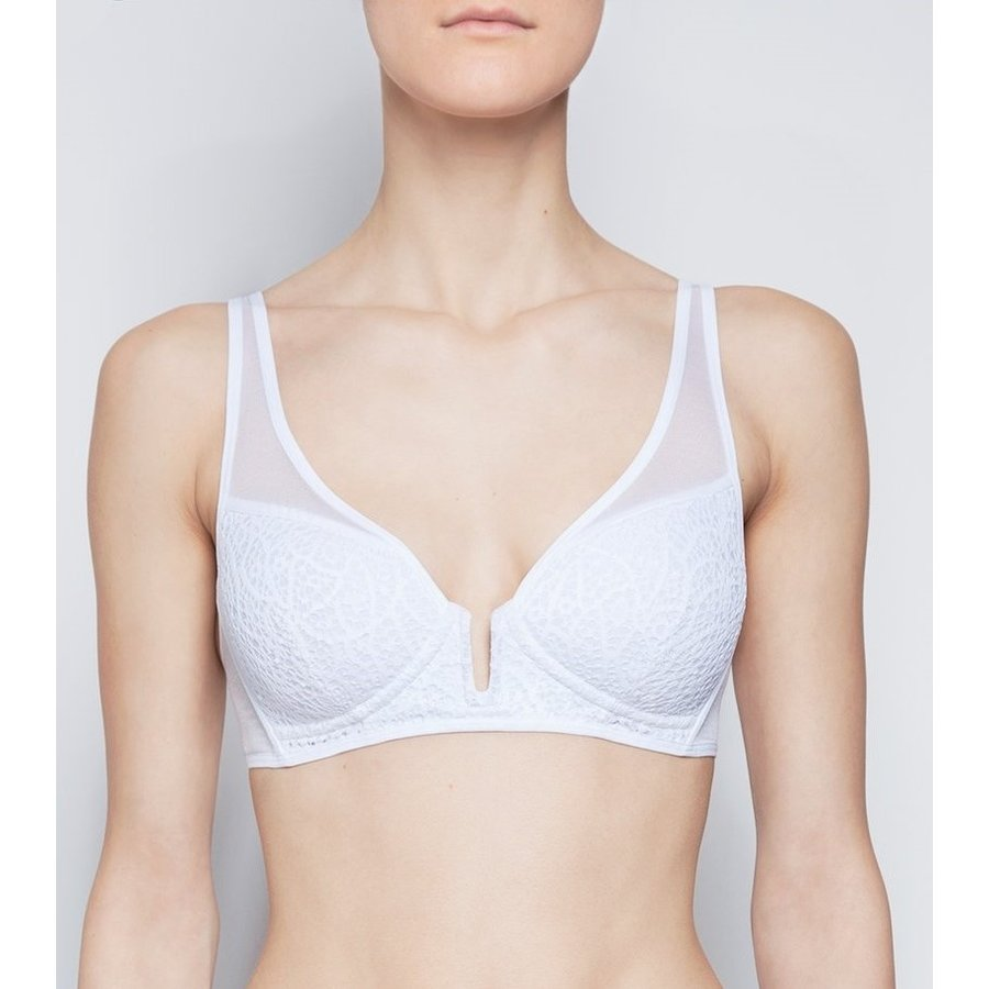Graphic Lace Sophie Wireless Spacer Bra