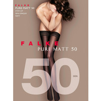 Pure Matt 50 Opaque Banded Top Stay-Up