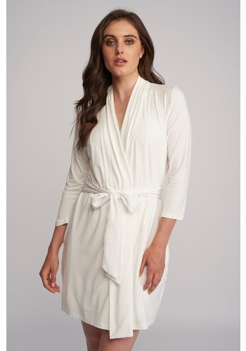 Iconic Robe with Silk Ties