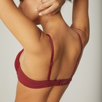 Wish Push-Up Triangle Bra with Removable Pads