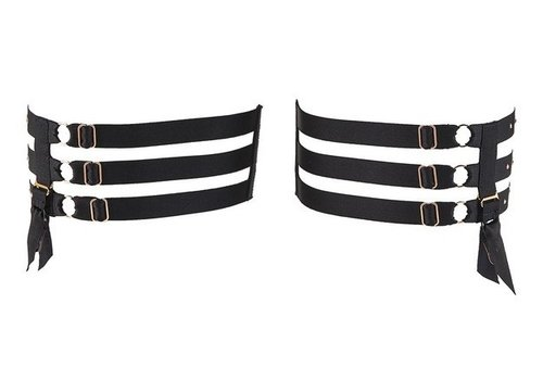 Recontre Anonyme Strappy Leg Garters