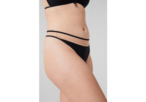 Maddy Recycled Microjersey Regular Thong