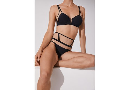 Laura Recycled Microjersey High Waist Thong