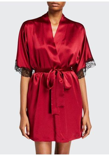 Silk Boudoir Short Robe