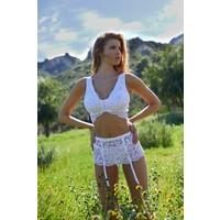 Magnolia Garter Skirt